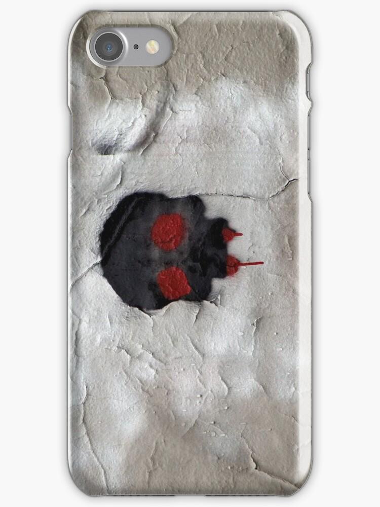 Skull iPhone by SuddenJim
