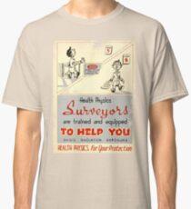 Health Physics 1950's t-shirt vintage  Classic T-Shirt