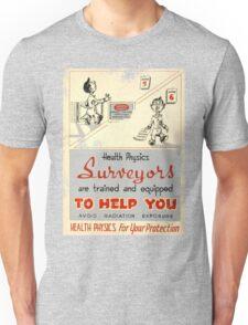 Health Physics 1950's t-shirt vintage  Unisex T-Shirt
