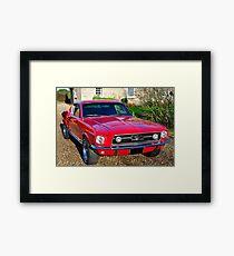 1967 Ford Mustang GT Framed Print