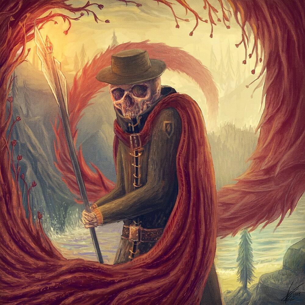 Wizard  by antonkarlik