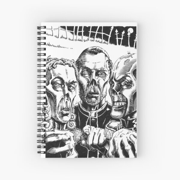 The Graveyard Book - The Ghouls Spiral Notebook