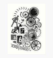 24/7/365 Art Print
