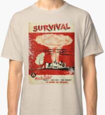 Survival nuclear 1950's Vintage T-shirt Classic T-Shirt