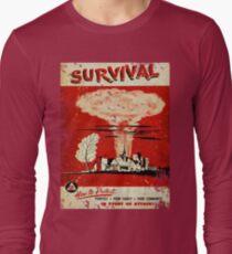 Survival nuclear 1950's Vintage T-shirt Long Sleeve T-Shirt