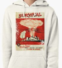 Survival nuclear 1950's Vintage T-shirt Pullover Hoodie