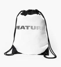 Feature Drawstring Bag