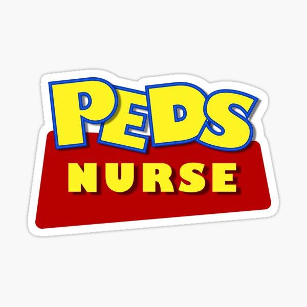 Peds Nurse Sticker