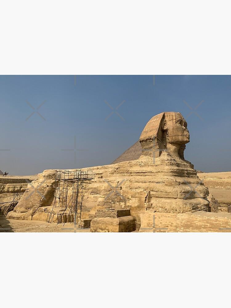 Egypt - Great Sphinx of Giza by wanderingfools