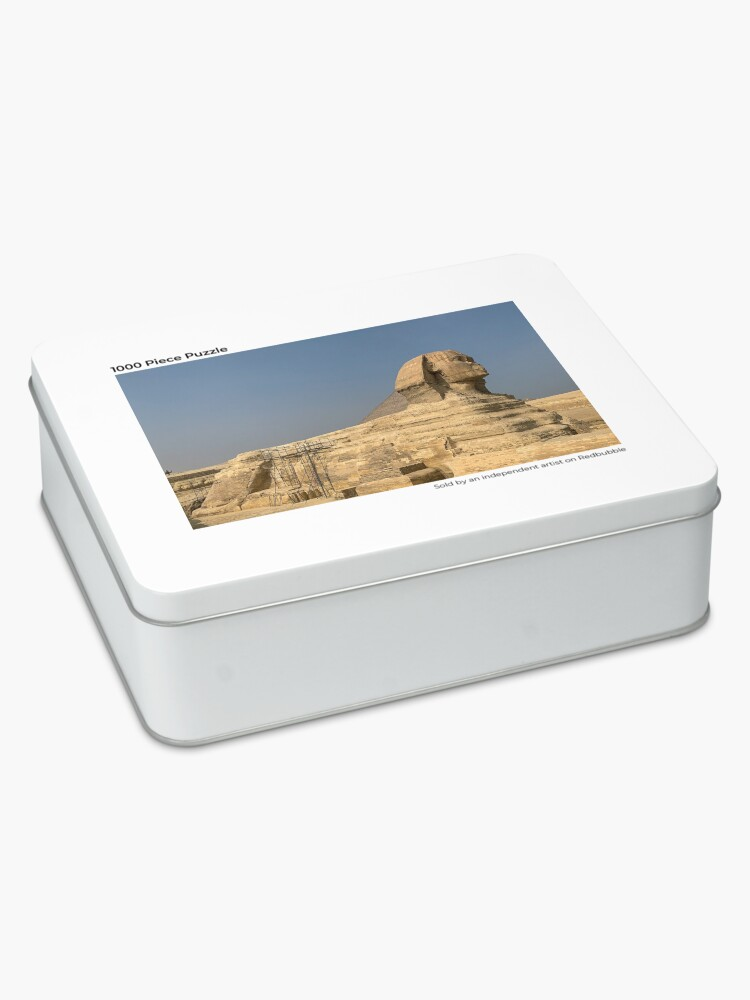 Alternate view of Egypt - Great Sphinx of Giza Jigsaw Puzzle