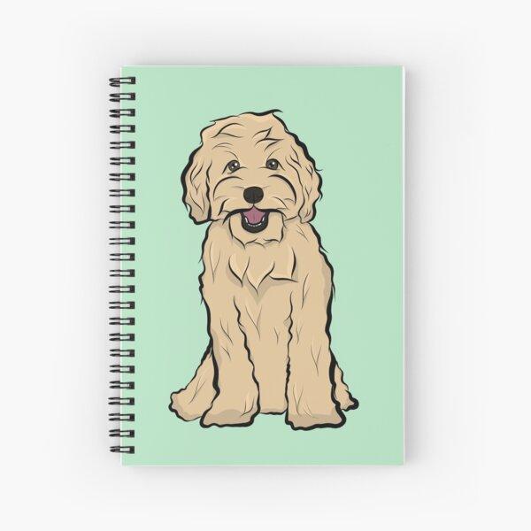 Golden Doodle Spiral Notebook