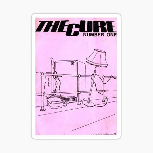 The Cure Poster Sticker