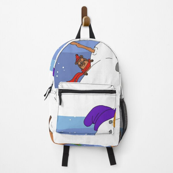 Let's build a snowman Backpack