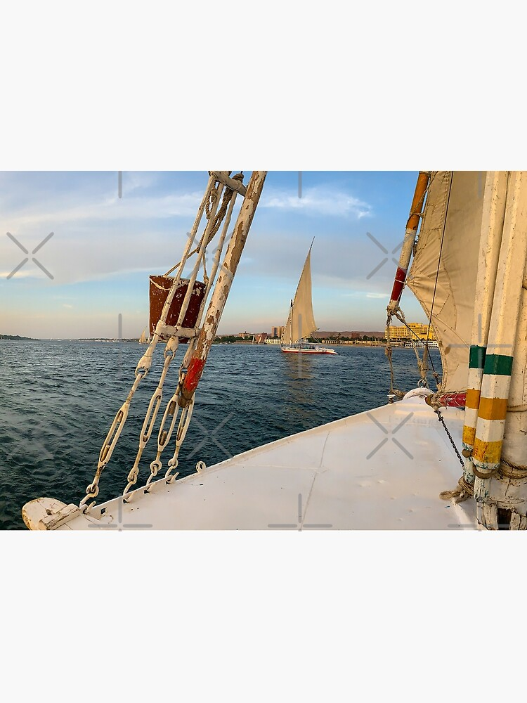 Egypt - Felucca Sailing on the Nile by wanderingfools