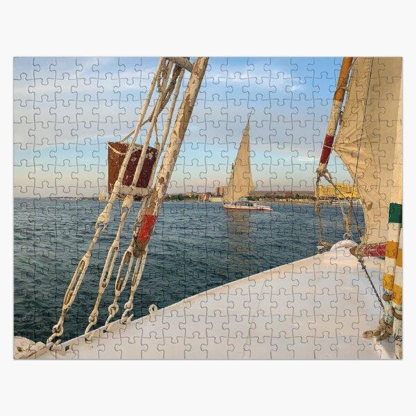 Egypt - Felucca Sailing on the Nile Jigsaw Puzzle