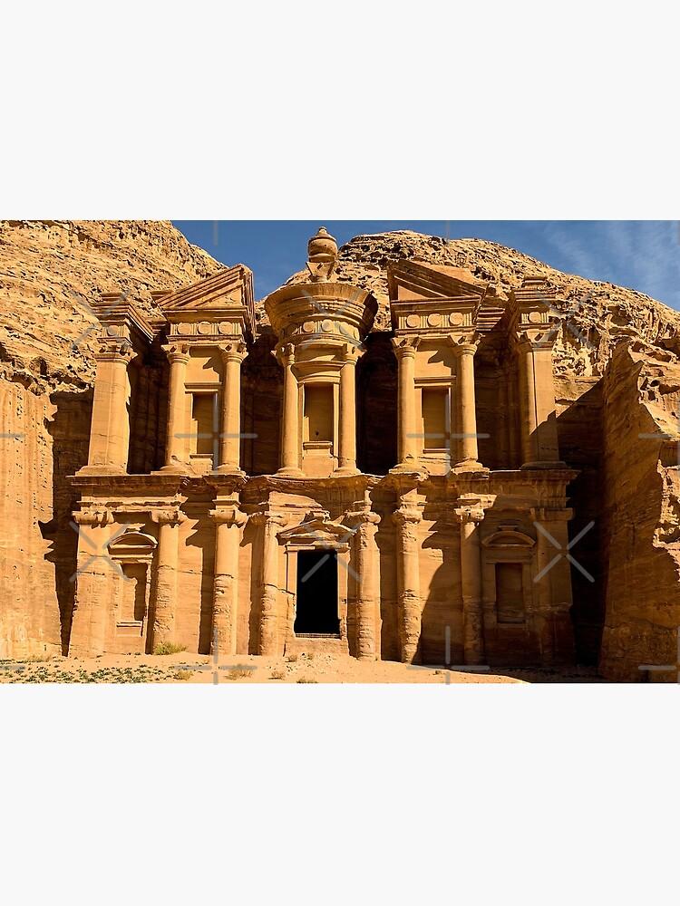 The Monastery - Jordan - Petra by wanderingfools