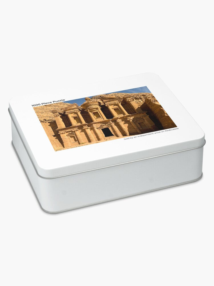 Alternate view of The Monastery - Jordan - Petra Jigsaw Puzzle