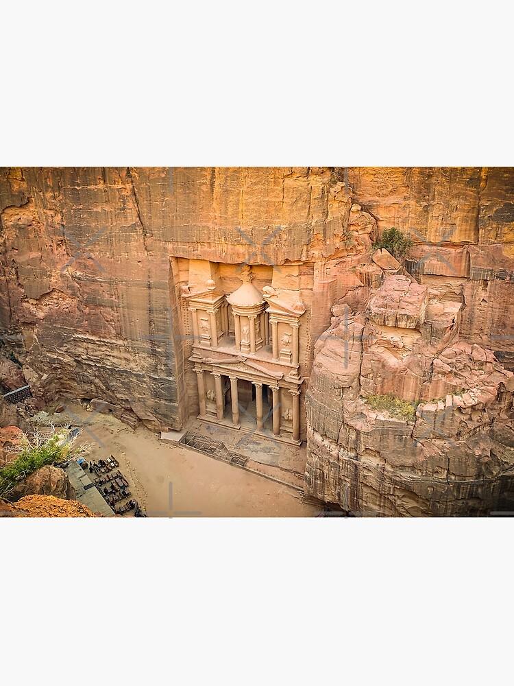 The Treasury Jordan - Petra by wanderingfools