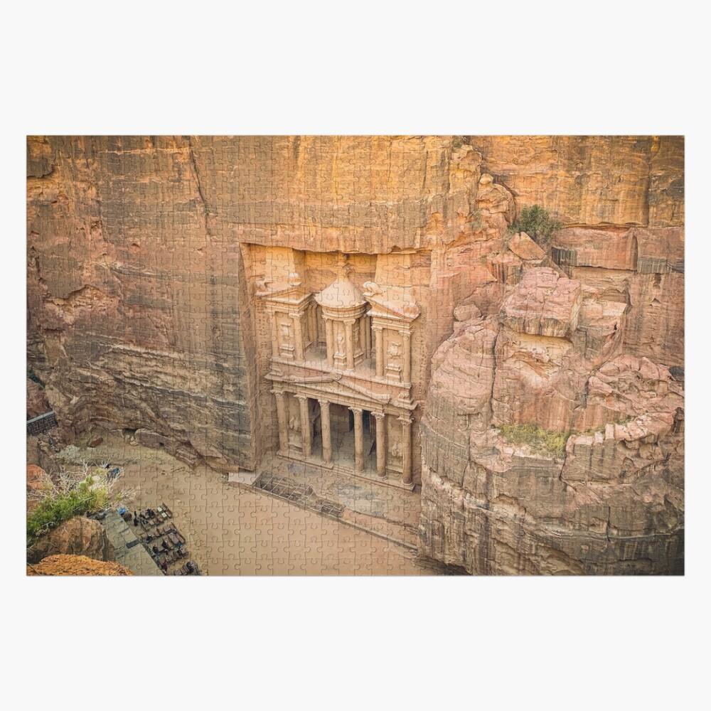 The Treasury Jordan - Petra Jigsaw Puzzle