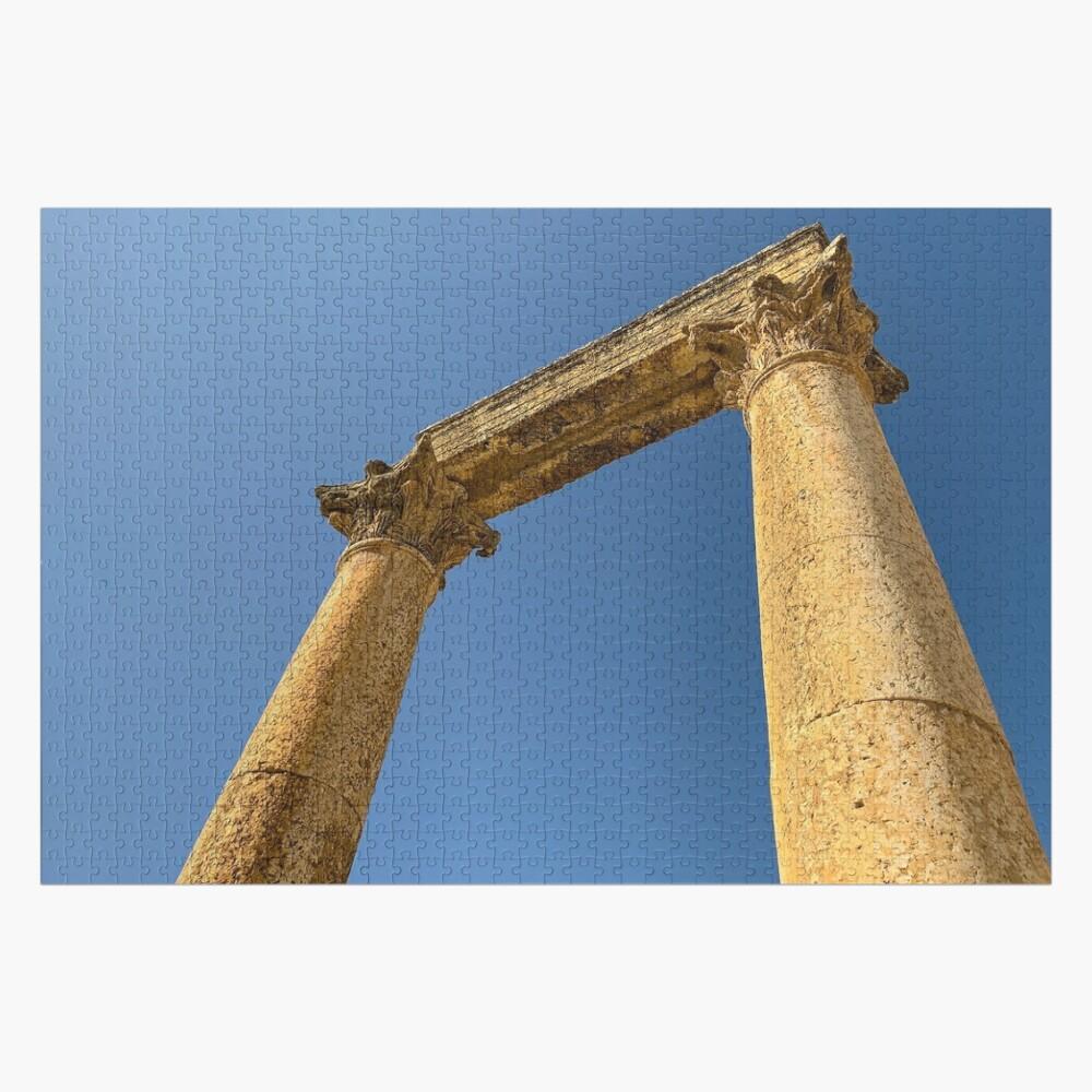 Jordan - Jerash - Roman Ruins Jigsaw Puzzle