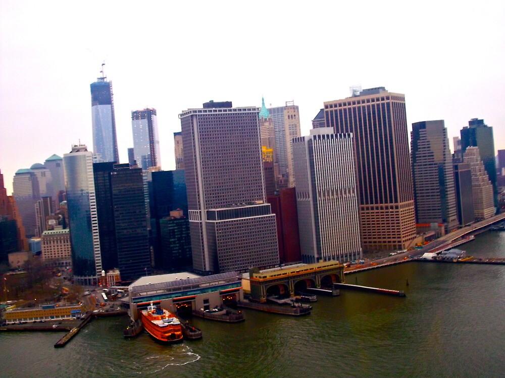 New York Skyline by Jennifer Patterson