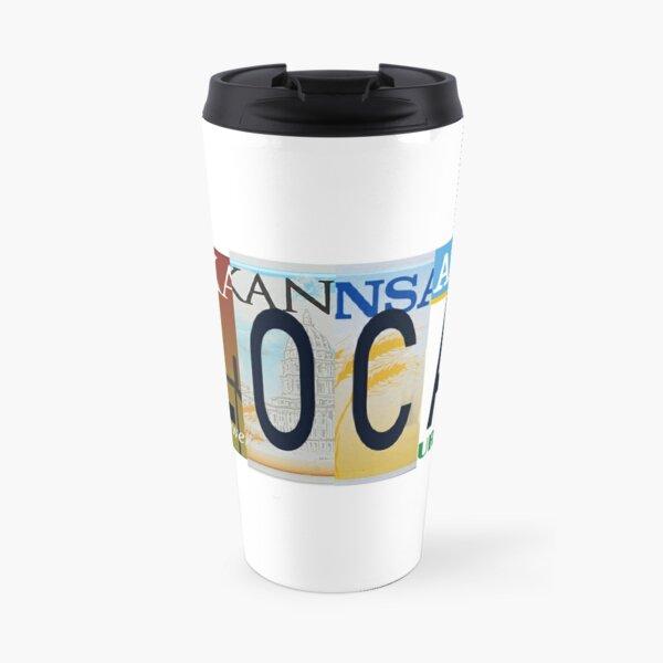 Kansas Local, License Plates  Travel Mug
