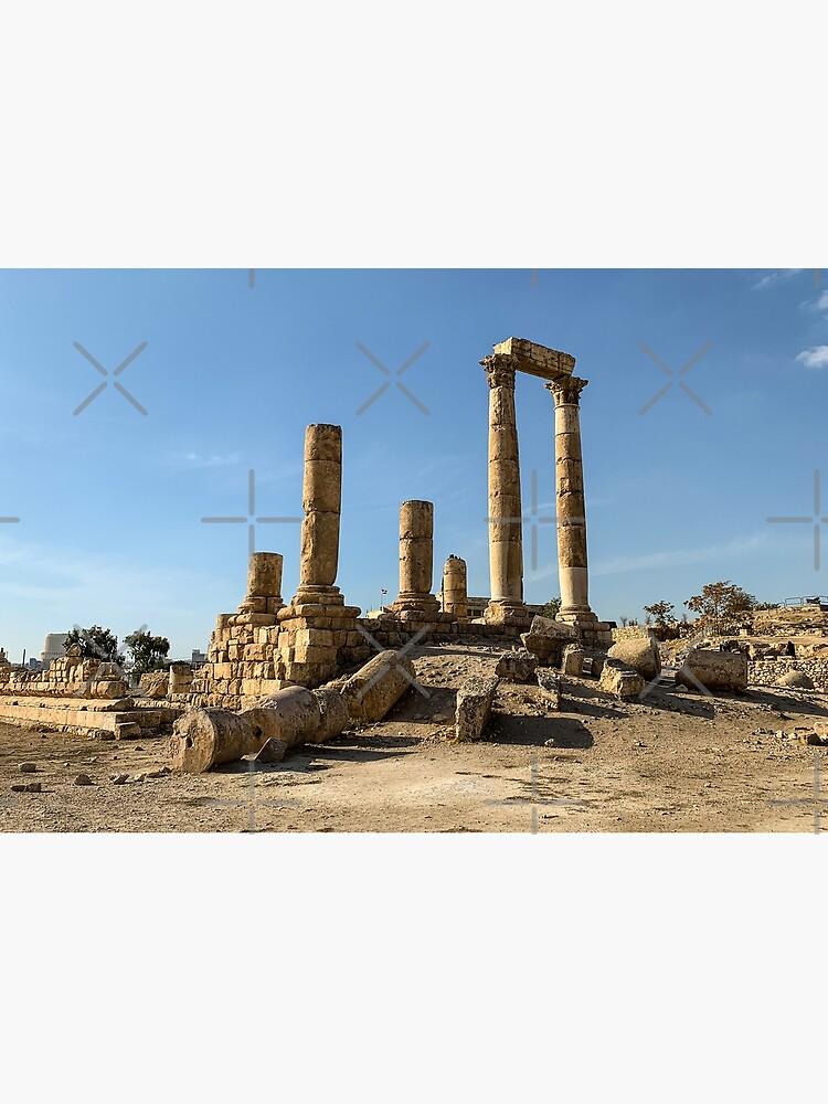 Jordan - Citadel - The Temple of Hercules by wanderingfools