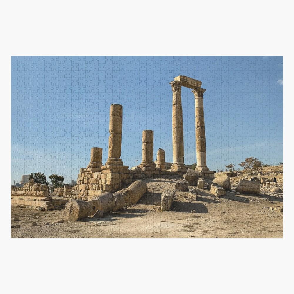Jordan - Citadel - The Temple of Hercules Jigsaw Puzzle