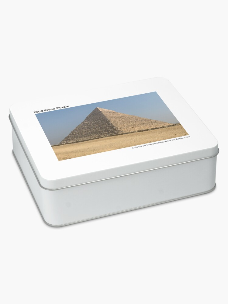Alternate view of Egypt - Great Pyramids of Giza Jigsaw Puzzle
