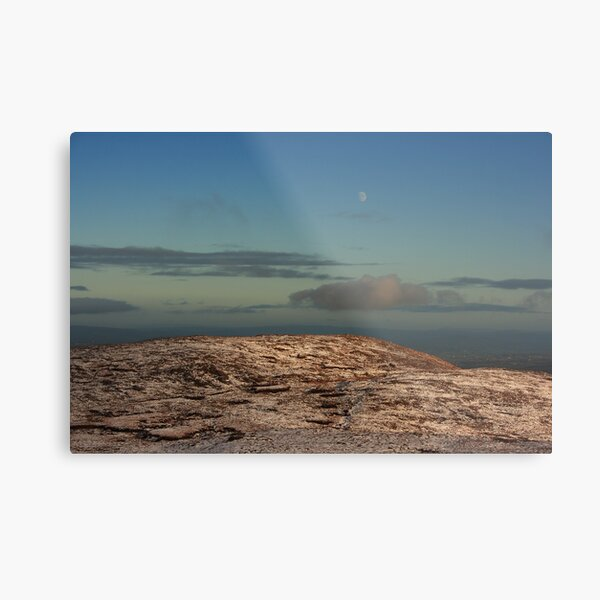 Moon Over Brown's Hill Metal Print
