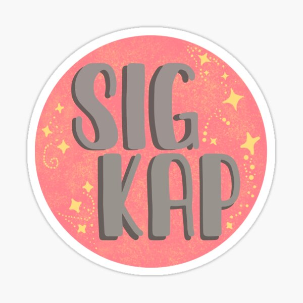 SIG KAP Sticker