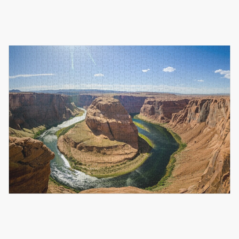 Horseshoe Bend - Arizona Jigsaw Puzzle