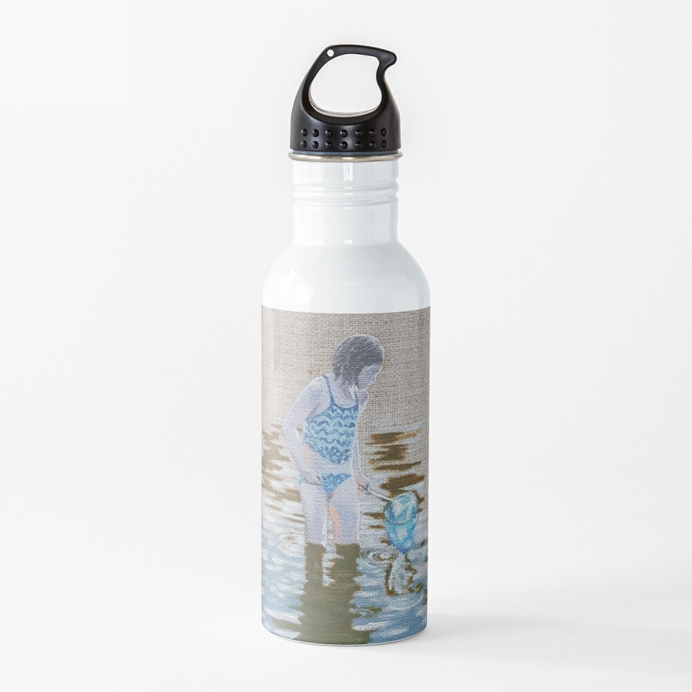 Mia and the Minnows - painting Water Bottle