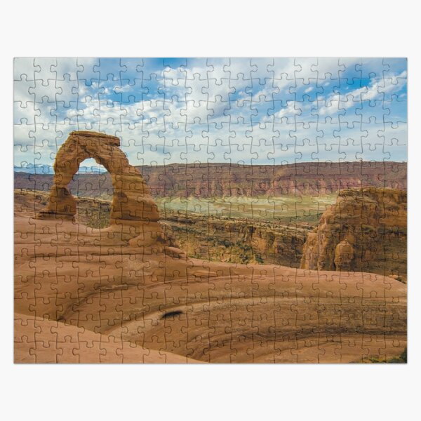 Delicate Arch - Arches National Park - Utah Jigsaw Puzzle