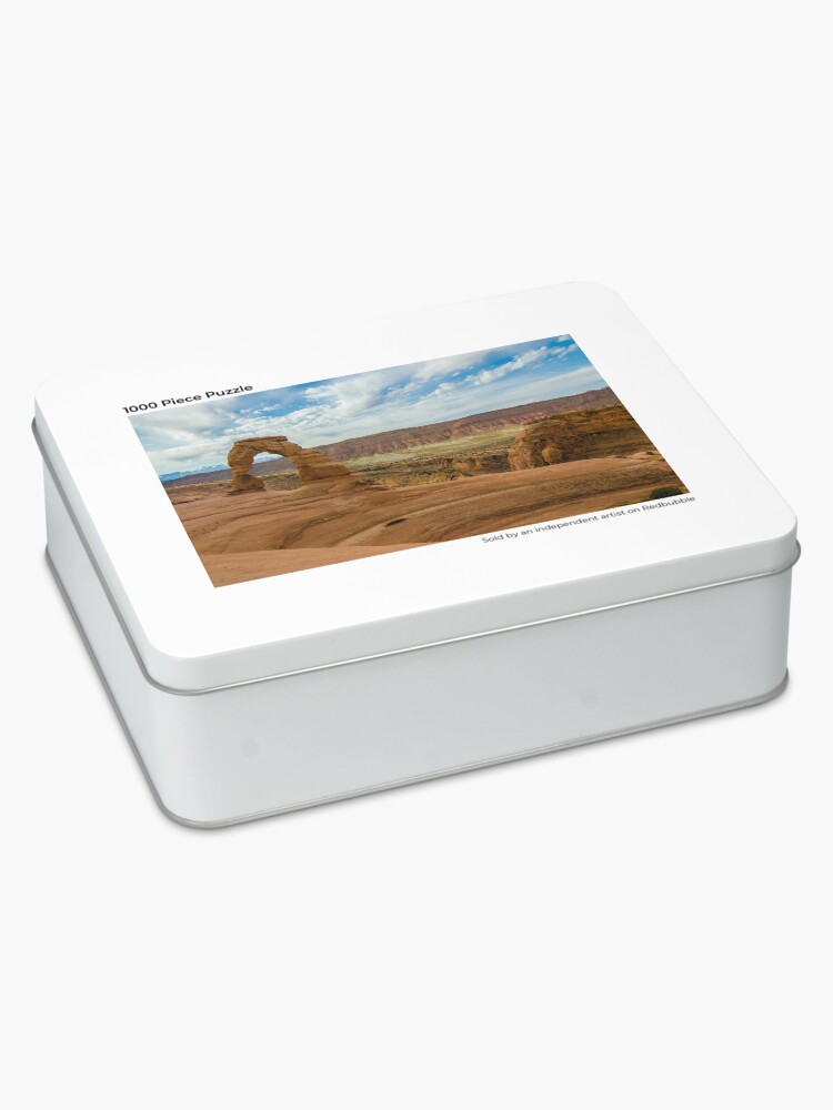 Alternate view of Delicate Arch - Arches National Park - Utah Jigsaw Puzzle