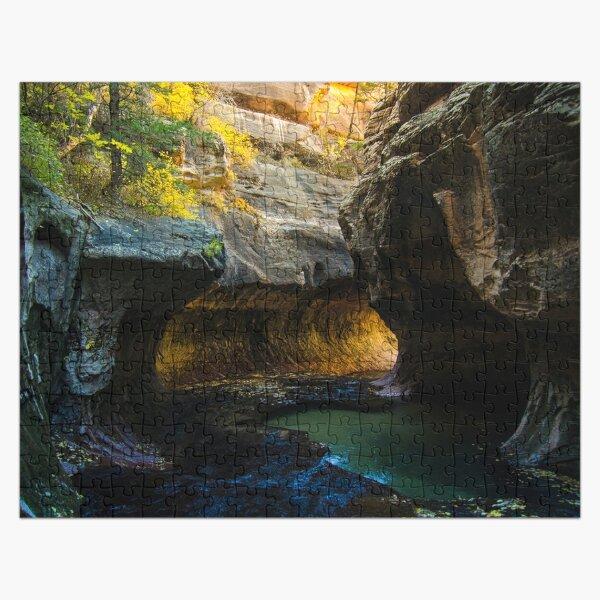 The Subway - Canyon - Zion National Park, UT. Jigsaw Puzzle