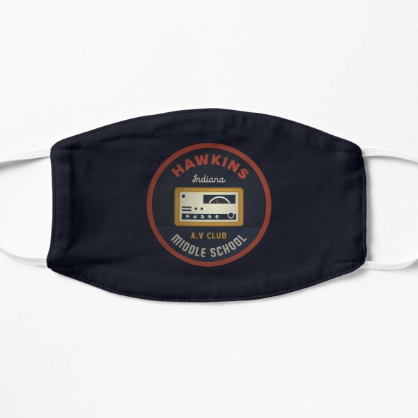 Hawkins AV Club Flat Mask