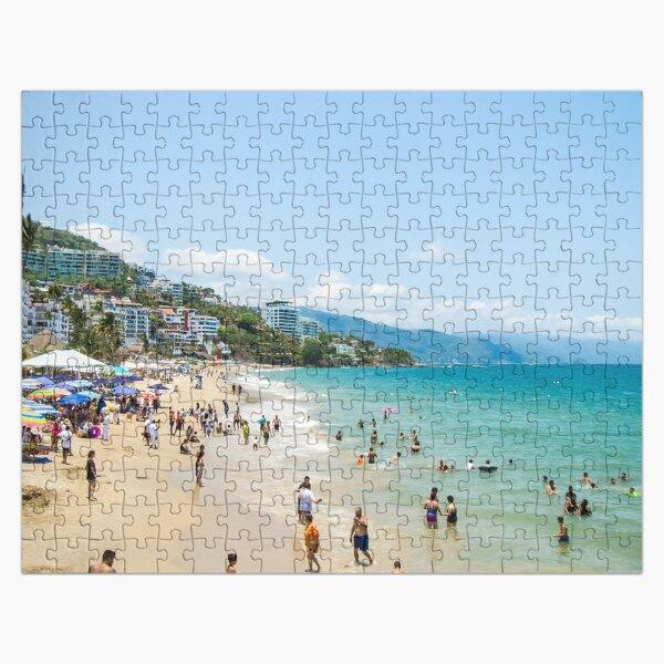 Los Muertos Beach Jigsaw Puzzle