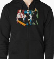 Blood and Ice Cream  Zipped Hoodie