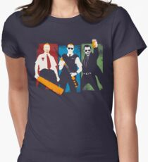 Blood and Ice Cream  Womens Fitted T-Shirt