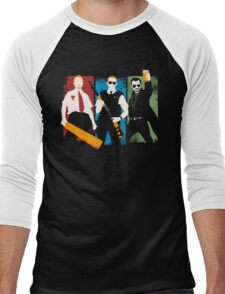 Blood and Ice Cream  Men's Baseball ¾ T-Shirt