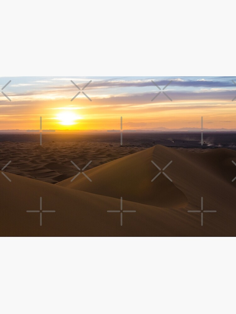 Sunset in the Sahara Desert by wanderingfools
