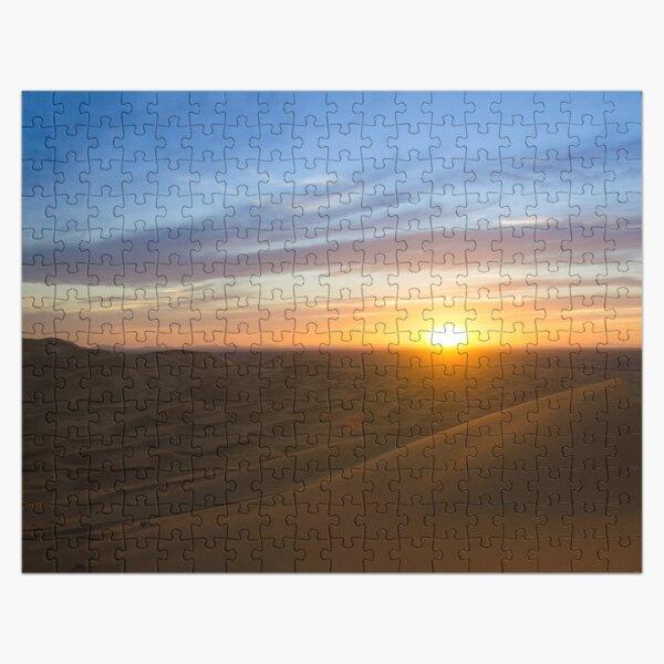 Sunset in the Sahara Desert Jigsaw Puzzle