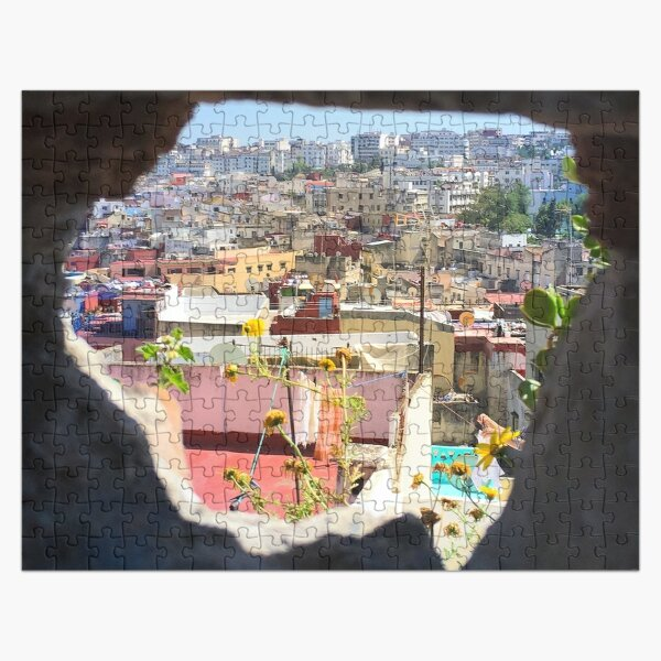 Hole in the Wall in Tangier, Morocco Jigsaw Puzzle