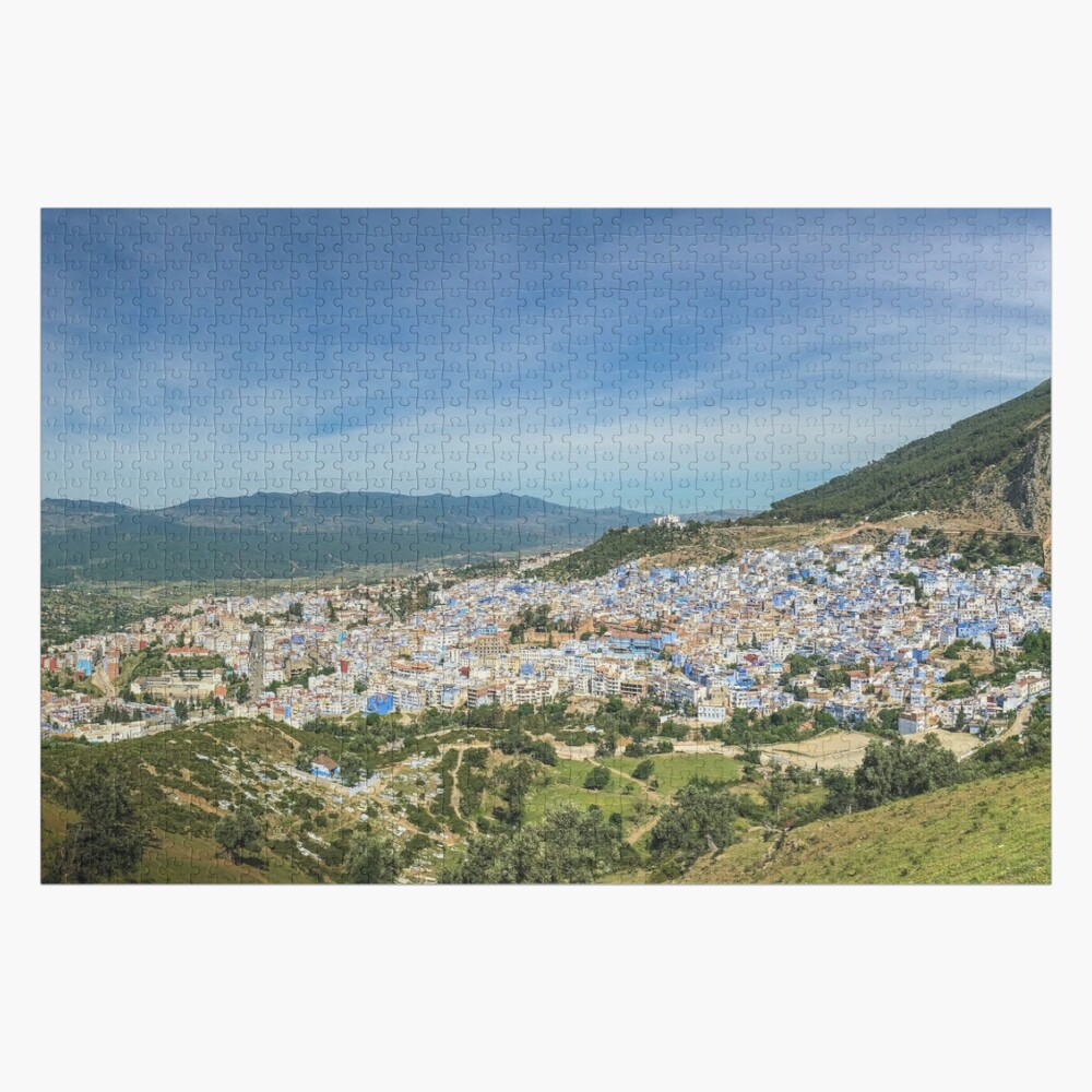 The town of Chefchaouen, Morocco Jigsaw Puzzle