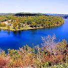Table Rock Lake, Branson, Missouri. by NatureGreeting Cards ©ccwri