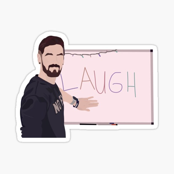 LAUGH Sticker