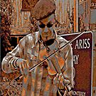 A day with my violin by Joseph  Coulombe