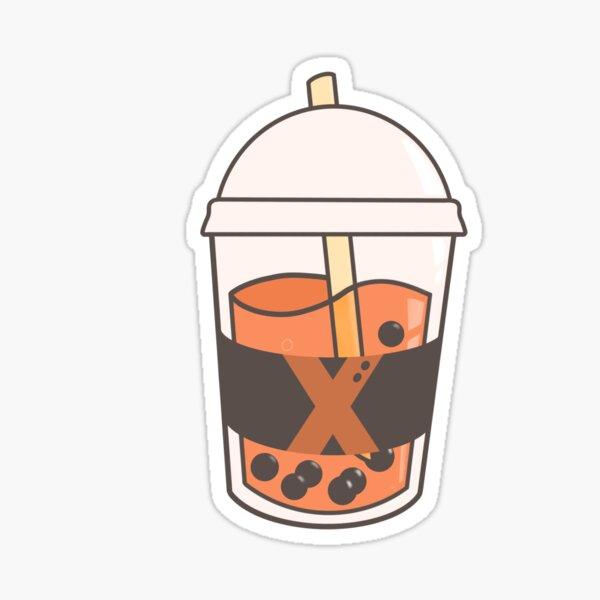 BNHA - BAKUGOU BUBBLE TEA Glossy Sticker