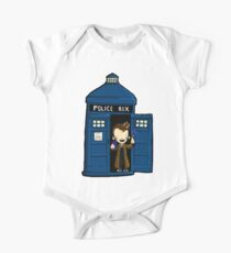 DOCTOR WHO IN TARDIS TENTH DOCTOR One Piece - Short Sleeve